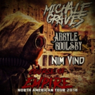 Michale Graves Continues COURSE OF EMPIRE North American Tour In 2018, Set For Europe In 2019