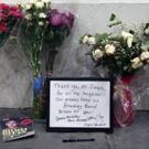 FREEZE FRAME: Neil Simon Memorial Tribute Set Up Outside the Neil Simon Theatre