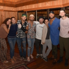 Exclusive Photo Coverage: HAMILTON Cast Jingles All the Way to Christmas for Carols F Photo