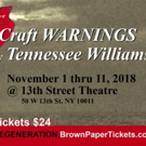 Tennessee Williams' SMALL CRAFT WARNING to Be Revived Photo