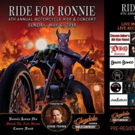 4th Annual RIDE FOR RONNIE Motorcycle Ride and Concert  to Showcase Next Generation of Rock Royalty