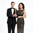 Photo Flash: See a First Look of GOLDEN GLOBES Hosts Sandra Oh and Andy Samberg
