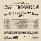 Matt Maeson Announces Biggest U.S. Headline Tour To Date