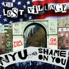 Documentary THE LOST VILLAGE opens in NYC on October 19th