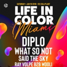 Diplo to Headline LIFE IN COLOR MIAMI 2019