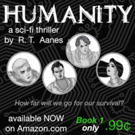 Science Fiction Writer R. T. Aanes Launches First Book in Epic 'Humanity' Series Photo