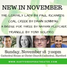 Hartford Opera Theater Presents: New In November 9 Photo
