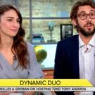 VIDEO: Sara Bareilles and Josh Groban Chat Tony Awards Preparation on CBS THIS MORNING