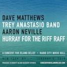 Dave Matthews, Aaron Neville & More Set for Concert for Island Relief at Radio City