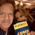 Photo Flash: William H. Macy & Felicity Huffman Visit Broadway's COME FROM AWAY