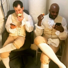 Photo Flash: HAMILTON Chicago Cast Members Enjoy Their Apple Products, and More Satur Photo