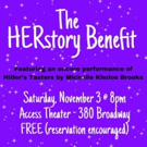 New Light Theater Project And Pocket Universe Join Forces For The HERstory Benefit Photo
