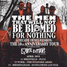 Louise Distras to Support The Men That Will Not Be Blamed For Nothing on Tour