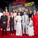 Photo Flash: Paul Rudd, Evangeline Lilly, & More at the ANT-MAN AND THE WASP World Premiere