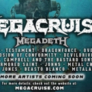 Megadeth's Inaugural MEGACRUISE Announces Line-Up & Public On-Sale Photo