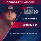 Luke Combs wins Country Artist of the Year At iHeartRadio Music Awards