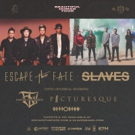 Veteran Scene Rockers ESCAPE THE FATE and SLAVES Announce 'Beautiful Human' North American Co-Headline Tour