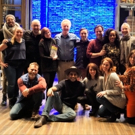Photo Flash: Original MERRILY WE ROLL ALONG Cast Members Visit Roundabout Production Photo