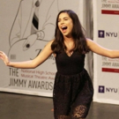 Emily Escobar wins Scholarship from THE JIMMY AWARDS at Minskoff Theatre