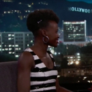 VIDEO: Lupita Nyong'o Talks Going Undercover at Comic Con on Jimmy Kimmel Live