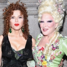 Photo Flash: Good Golly, Two DOLLYs! Bette Midler and Bernadette Peters Have Some Hulaween Fun!