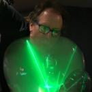 Photo Flash: Amazing Bubbleologist Louis Pearl Delights Guests at Brehemia Bar To Celebrate Edinburgh Fringe Run Photos