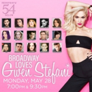 Jeremy Jordan, Jennifer Damiano, Kyle Dean Massey and More Among Lineup for BROADWAY LOVES GWEN STEFANI