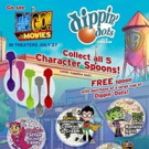 Dippin' Dots Joins Forces with TEEN TITANS GO! to the Movies with Character Spoons, S Photo