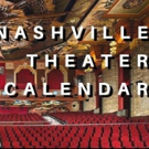 SAVE THE DATE: Nashville Theater Calendar for October 29, 2018