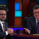 VIDEO: Stephen Colbert and J.J. Abrams Invite Entire Studio Audience to See THE PLAY  Video