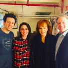Reba McEntire Visits the Diner at WAITRESS