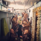 Photo Flash: Morrible Monkeys Around and More Saturday Intermission Pics!