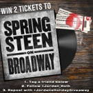 Contest: Enter To Win Tickets to SPRINGSTEEN on Broadway! Video