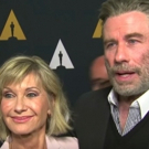 VIDEO: John Travolta and Olivia Newton-John Talk Timelessness of GREASE at 40th Anniv Video