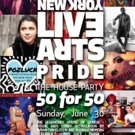 New York Live Arts Presents 2nd Annual Live Arts Pride 2019: THE HOUSE PARTY 50 FOR 5 Photo
