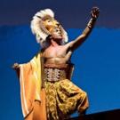 THE LION KING Opens Tonight at Wharton Center