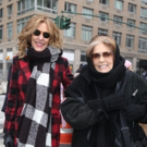 Photo Flash: Gloria Steinem and Cast of GLORIA: A LIFE March in the Women's Unity Ral Photo