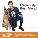 GOTHAM Star David Mazouz, Urges People to Join National Animal Welfare Organization's Drive to Save Shelter Animals
