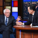 THE LATE SHOW Featuring Guest Bernie Sanders Sees Highest Ratings in Two Months