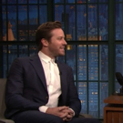 VIDEO: Armie Hammer Talks Moonwalking, Learning Lines, And Being Out Of His Comfort Zone In STRAIGHT WHITE MEN On LATE NIGHT