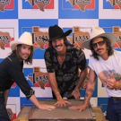 Midland Added To Billy Bob's Texas 'Hand Prints Of Stars' During Sold Out Show Joinin Photo