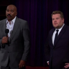 VIDEO: Steve Harvey Hijacks James Corden's Q&A Video