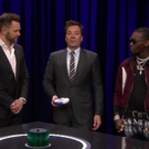 VIDEO: Jimmy Fallon Plays Catchphrase with Joel McHale, Michael Che and Offset Photo