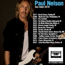 Virtuoso Blues/Rock Guitarist Paul Nelson Announces 2018 North American Tour Dates