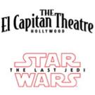 STAR WARS: THE LAST JEDI Comes to El Capitan, 12/14 - 1/28 Photo
