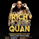 Rich Homie Quan Announces Canadian Tour Dates