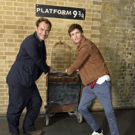 Photo Coverage: See Eddie Redmayne and Jude Law at King's Cross Station for 'Back to Hogwarts' Day