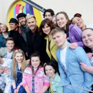 Photo Flash: Take That Perform with the Cast of THE BAND Photo