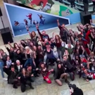 VIDEO: German Production of BAT OUT OF HELL Conducts a Flash Mob at the Mall Video