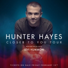 Levi Hummon Kicks Off 'Closer to You Tour' With Hunter Hayes Tonight